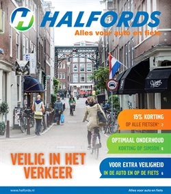 Aanbiedingen van Halfords in the Amsterdam folder