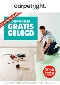 Aanbiedingen van Carpetright in the Amsterdam folder