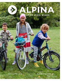 Auto & Fiets Aanbiedingen in de Alpina fietsen folder in Amsterdam