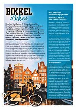 Auto & Fiets Aanbiedingen in de Bikkel Bikes folder in Amstelveen ( Meer dan een maand )
