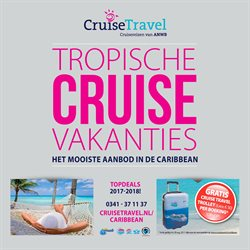 Aanbiedingen van Cruise Travel in the Duivendrecht folder