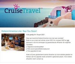 Catalogus van Cruise Travel ( Nog 16 dagen )
