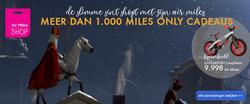 Aanbiedingen van Air Miles in the Rotterdam folder