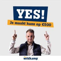 Aanbiedingen van Wildkamp in the Wildkamp folder ( Net gepubliceerd)
