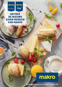 Supermarkt Aanbiedingen in de Makro folder in Uden