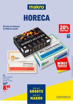 Aanbiedingen van Supermarkt in the Makro folder ( Net gepubliceerd)