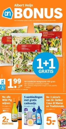 Aanbiedingen van Albert Heijn in the Meerssen folder