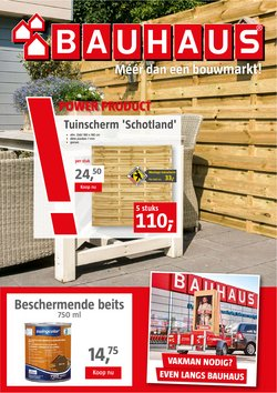 Aanbiedingen van Bauhaus in the Bauhaus folder ( Nog 5 dagen)