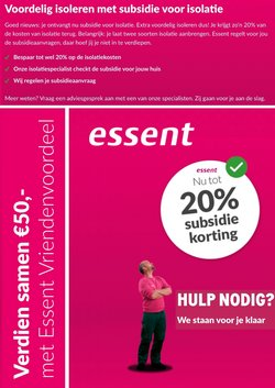 Catalogus van Essent ( Nog 16 dagen )