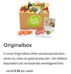 Aanbiedingen van Hello Fresh in the Amersfoort folder
