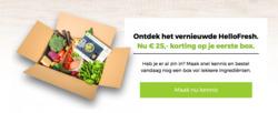 Aanbiedingen van Hello Fresh in the Hilversum folder