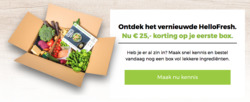 Aanbiedingen van Hello Fresh in the Riel folder