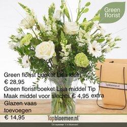 Aanbiedingen van Topbloemen in the Topbloemen folder ( Nog 5 dagen)