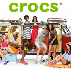 Aanbiedingen van Crocs in the Amsterdam folder