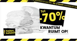 Aanbiedingen van Kwantum in the Rotterdam folder