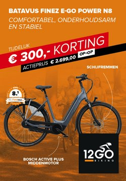 Catalogus van 12GO Biking ( Nog 9 dagen )