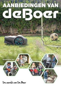 Aanbiedingen van De Boer Drachten in the De Boer Drachten folder ( Meer dan een maand)
