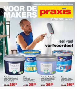 Aanbiedingen van Praxis in the Breda folder