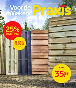 Aanbiedingen van Praxis in the Almere folder