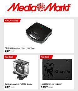 Aanbiedingen van Computers & Elektronica in the Media Markt folder ( Net gepubliceerd)