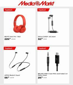 Aanbiedingen van Apple in the Media Markt folder ( Net gepubliceerd)