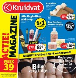 Aanbiedingen van Drogisterij & Parfumerie in the Kruidvat folder ( Net gepubliceerd)