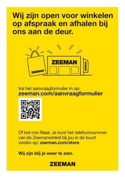 Aanbiedingen van Kleding, Schoenen & Accessoires in the Zeeman folder ( Nog 9 dagen )