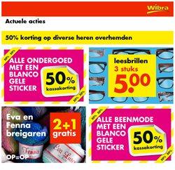 Warenhuis Aanbiedingen in de Wibra folder in Amsterdam ( Verloopt morgen )