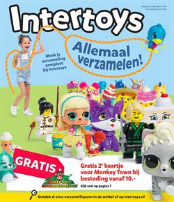 Aanbiedingen van Intertoys in the Rotterdam folder
