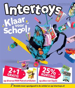 Speelgoed en Baby´s Aanbiedingen in de Intertoys folder in Stadskanaal