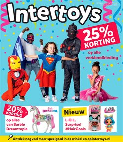 Speelgoed en Baby´s Aanbiedingen in de Intertoys folder in Aalsmeer