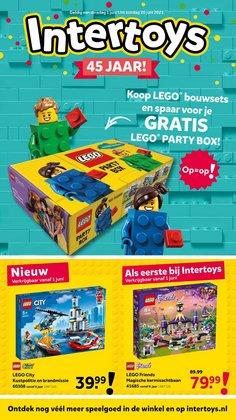 Aanbiedingen van Lego in the Intertoys folder ( Nog 5 dagen)