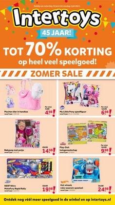 Aanbiedingen van Baby, Kind & Speelgoed in the Intertoys folder ( Nog 13 dagen)