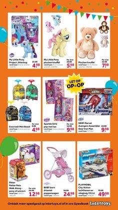 Aanbiedingen van Playmobil in the Intertoys folder ( Nog 13 dagen)
