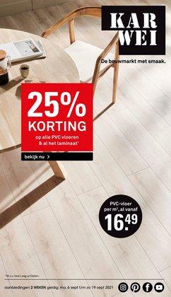 Aanbiedingen van Bouwmarkt & Tuin in the Karwei folder ( Nog 3 dagen)