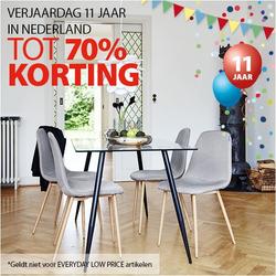 Aanbiedingen van Jysk in the Amsterdam folder