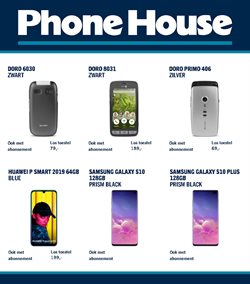 Catalogus van Phone House ( Nog 18 dagen )