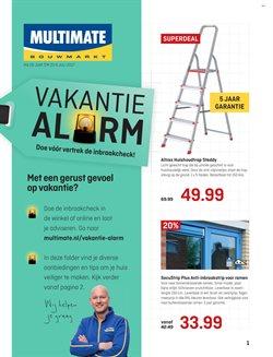 Aanbiedingen van Multimate in the Haarlem folder