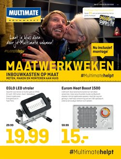 Aanbiedingen van Multimate in the Den Haag folder
