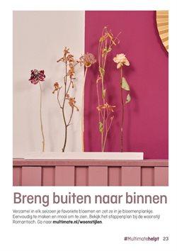 Aanbiedingen van Bouwmarkt & Tuin in the Multimate folder ( Meer dan een maand )
