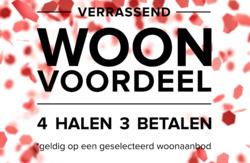 Aanbiedingen van de Bijenkorf in the Amsterdam folder