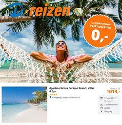 Vakantie & Reizen Aanbiedingen in de D-reizen folder in Amsterdam ( Meer dan een maand )