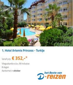 Aanbiedingen van Vakantie & Reizen in the D-reizen folder ( Verloopt morgen)