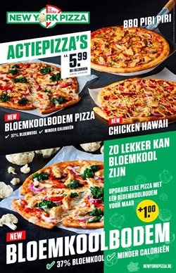 Aanbiedingen van New York Pizza in the Amsterdam folder