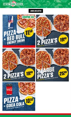 Catalogus van New York Pizza ( Verloopt morgen )