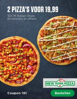 Catalogus van New York Pizza ( Nog 4 dagen )