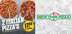 Aanbiedingen van New York Pizza in the Zwolle folder