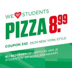 Aanbiedingen van New York Pizza in the Amsterdam folder