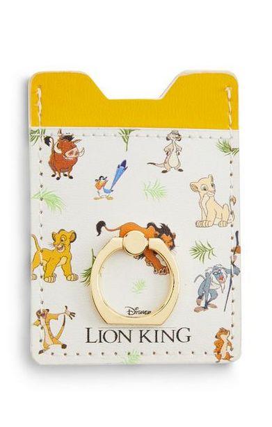 Aanbieding van Gele kaarthouder Disney Lion King voor 3,5€