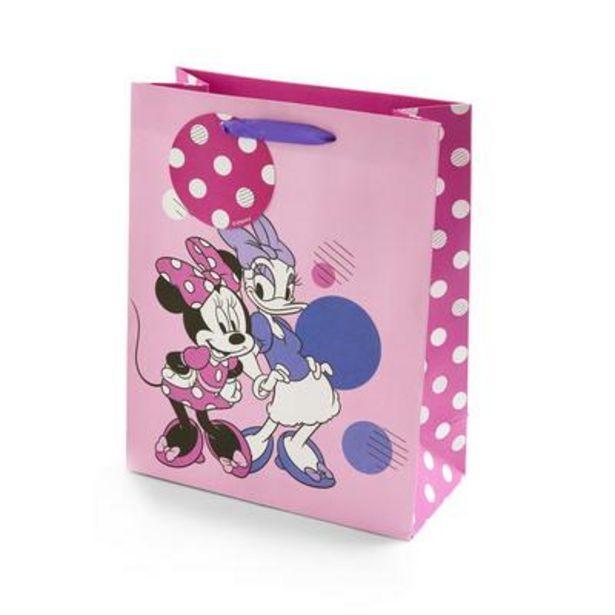 Aanbieding van Roze geschenktas Disney Minnie & Daisy voor 2€